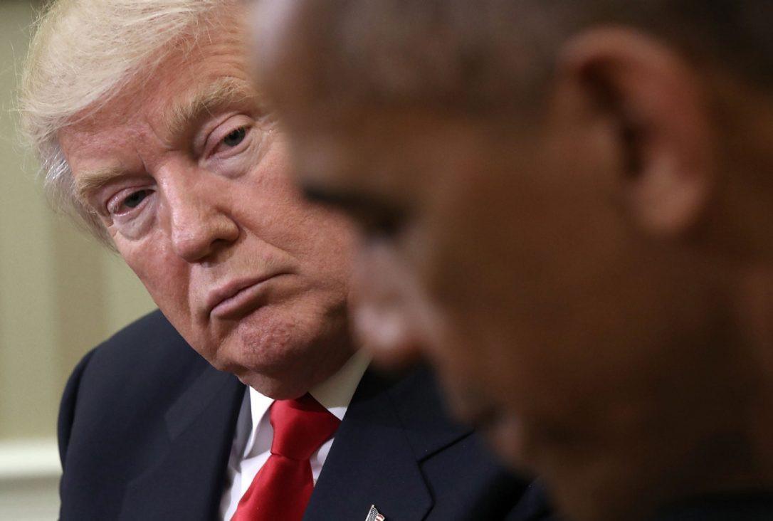 Obamatrump reunion