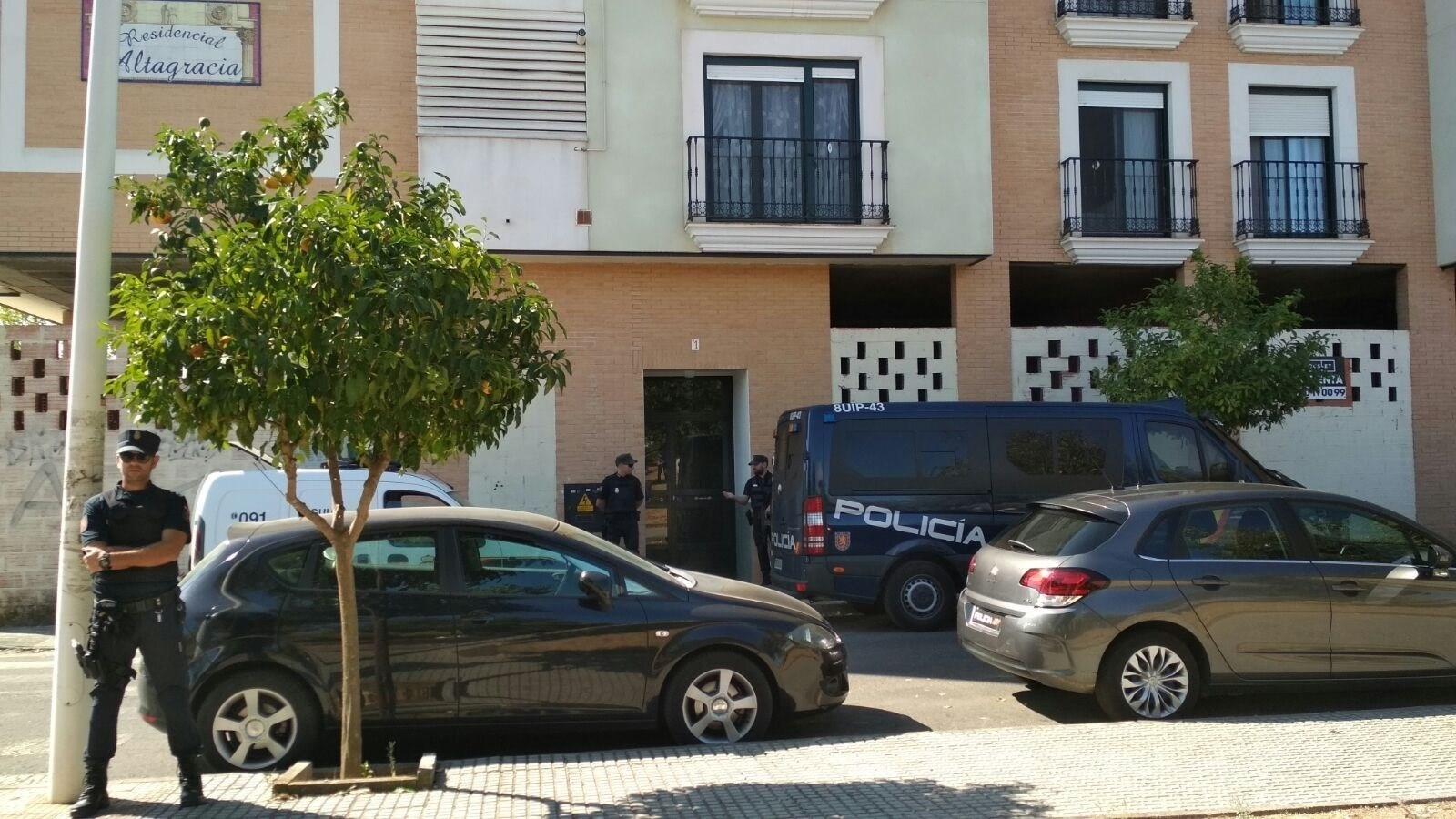 Operacion policial Merida 1