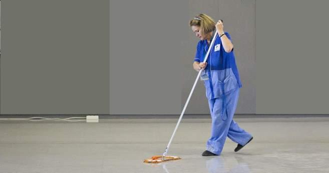 Operaria de limpieza