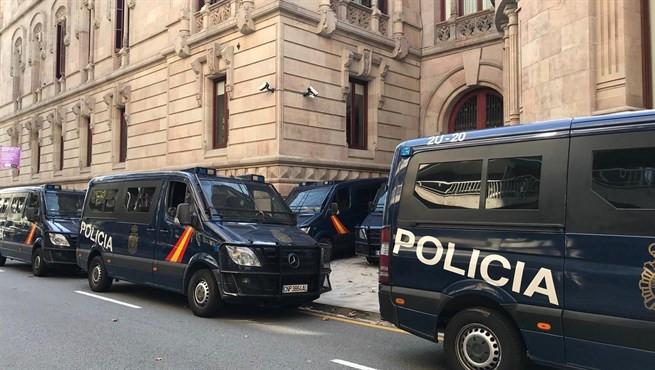 Policia nacional vigila TSJC