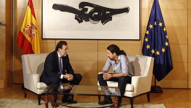 Rajoy habla con iglesias