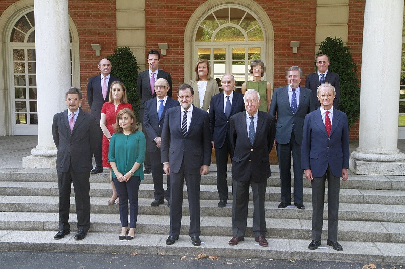 Rajoy ministros 1