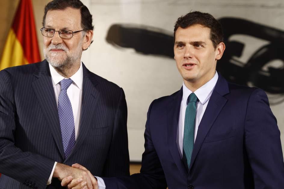 Rajoy rivera pensiones