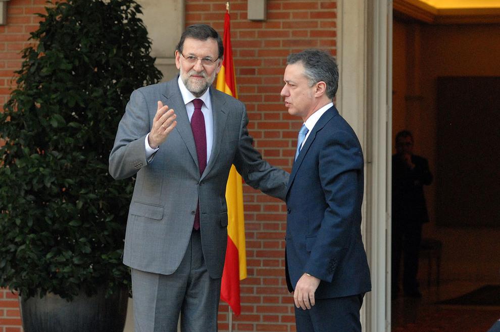 Rajoy urkullu