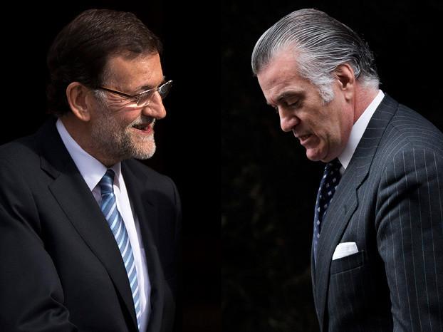 Rajoy y barcenas