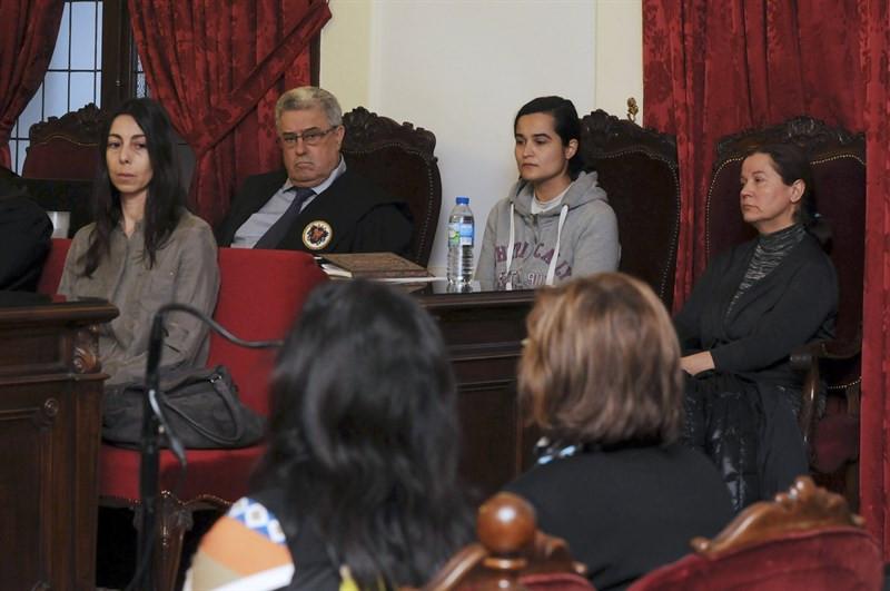 Raquel Gago durante el juicio