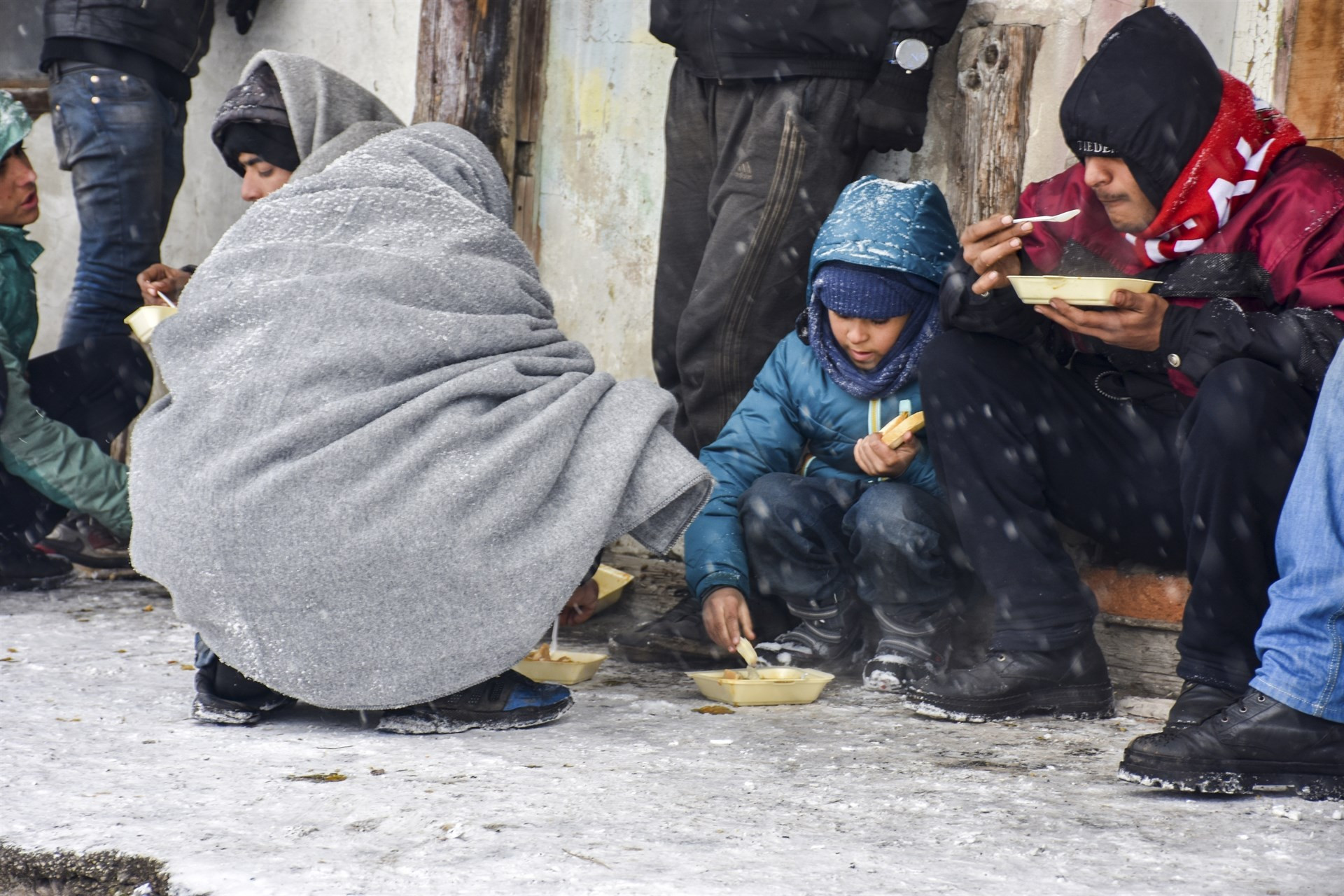 Refugiados hungria