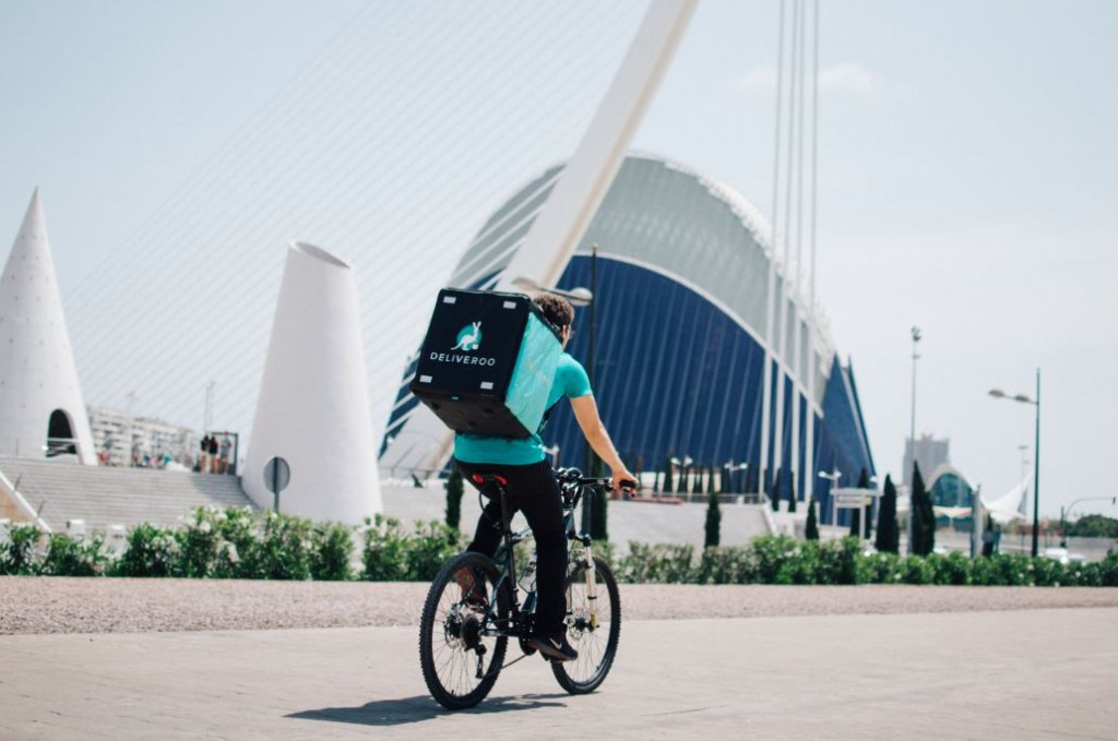 Repartidor deliveroo