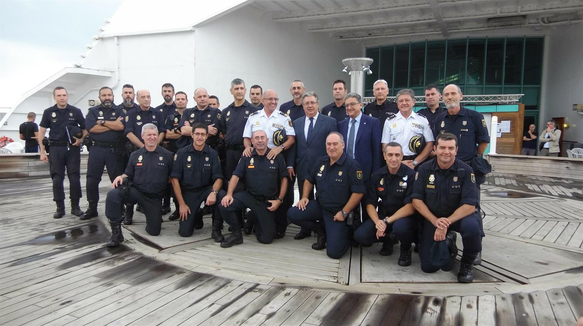 Reunion zoido policia cataluna