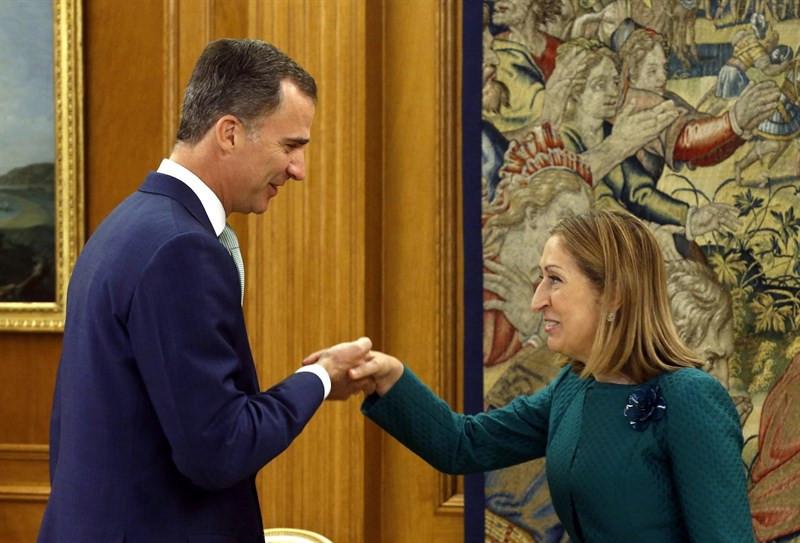 El Rey recibe a Ana Pastor