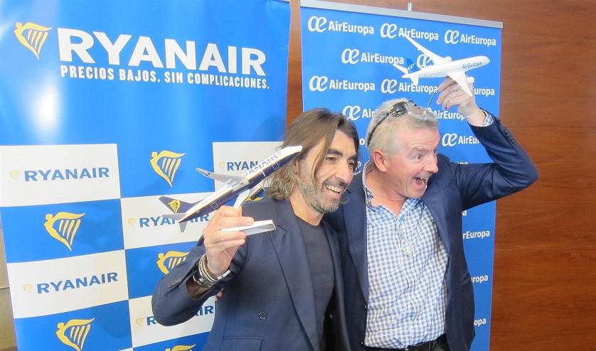 RyanairsealiaconAirEuropa