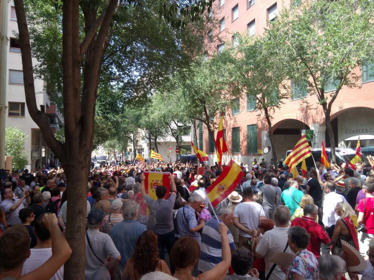 Soporte guardia civil barcelona