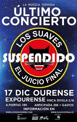 Suaves suspendido