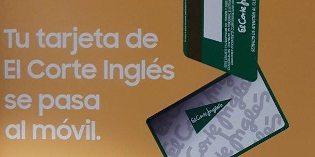 b3cddcd0ce4 La tarjeta de compra de El Corte Inglés se pasa al móvil