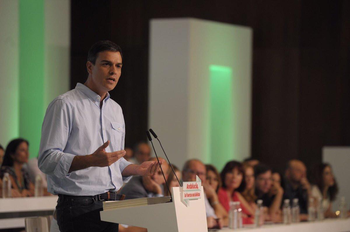Pedro Sanchez PSOE