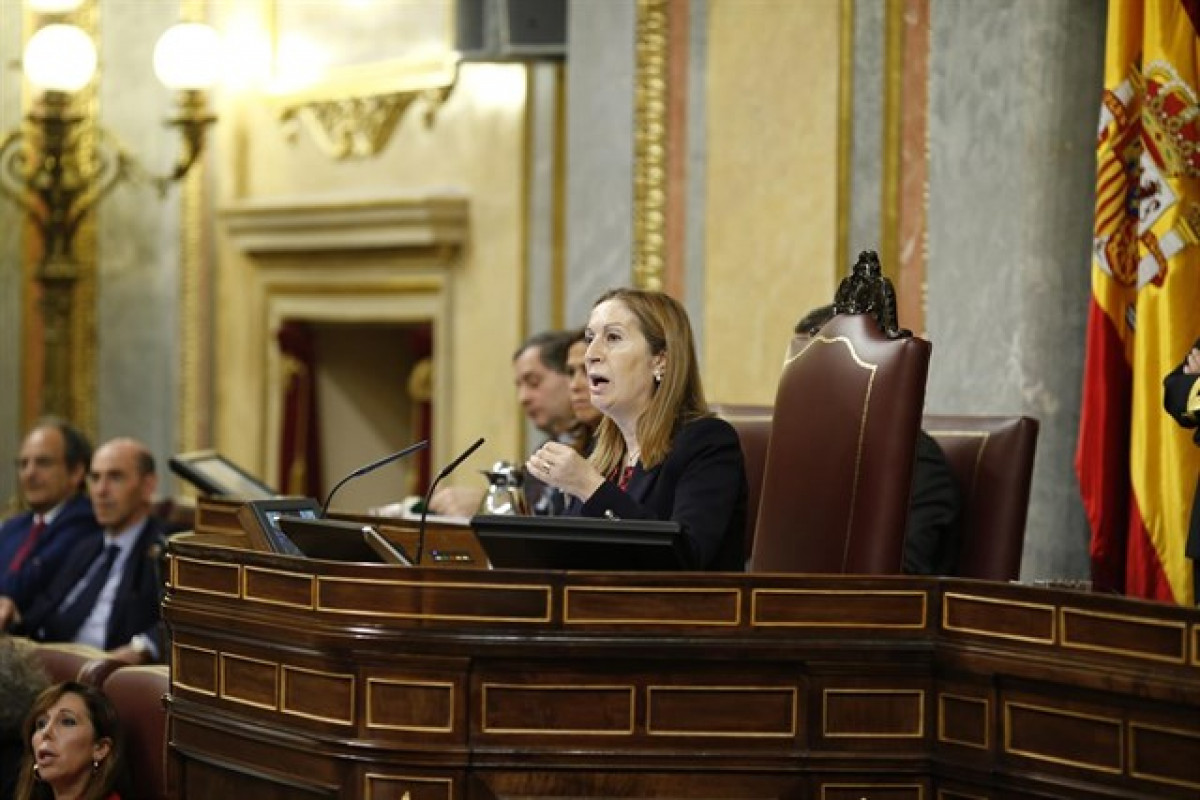 Ana pastor presidenta congreso diputados