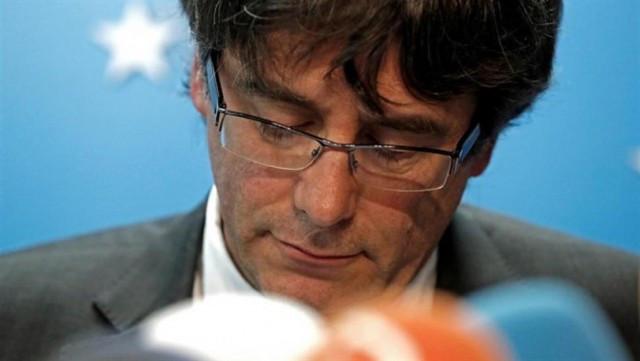 El expresident de la Generalitat de Catalunya Carles Puigdemont