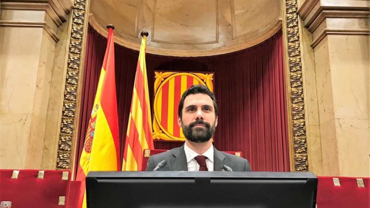 Roger Torrent, presidente del Parlamento catalu00e1n