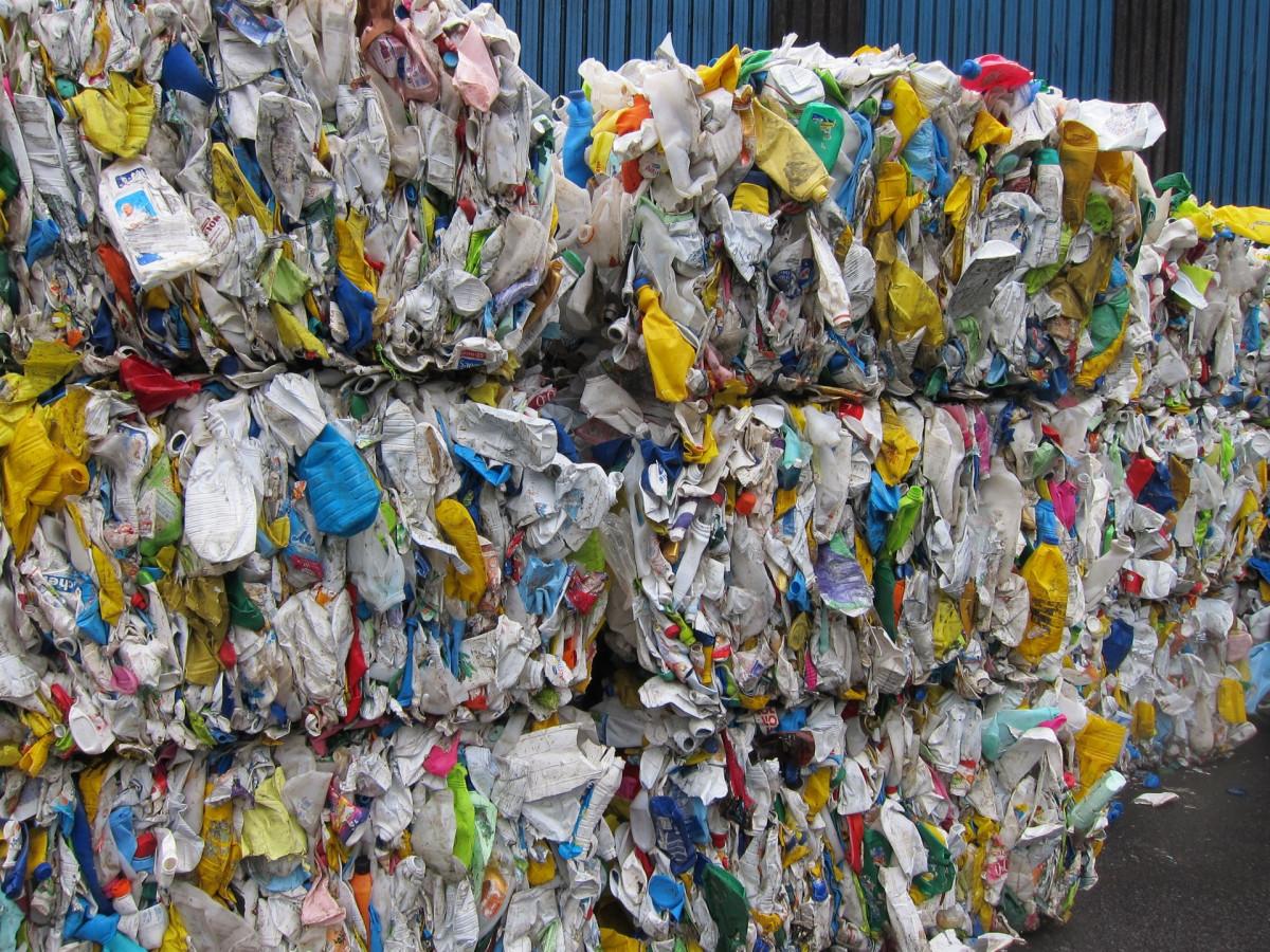 Plu00e1stico preparado para su reciclaje