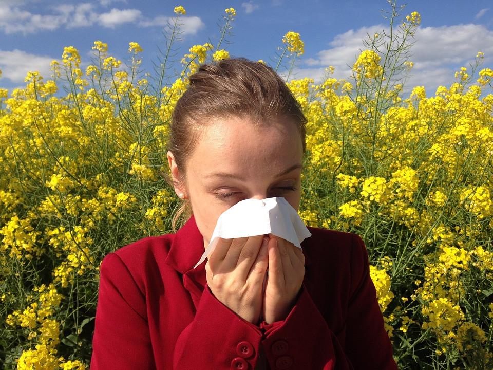 Su00edntomas de alergia