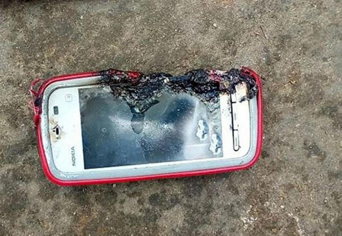 Explosion de un movil en la India