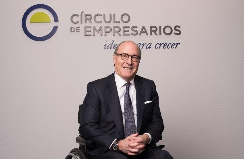 John de Zulueta, presidente del Ciu0301rculo de Empresarios