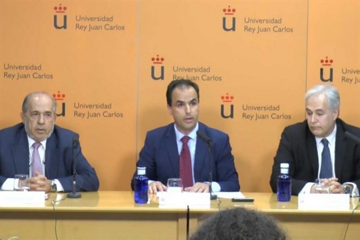 El rector de la URJC, Javier Ramos