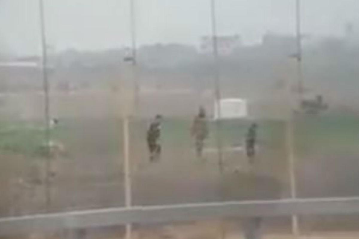 Soldado israelu00ed dispara a palestino desarmado