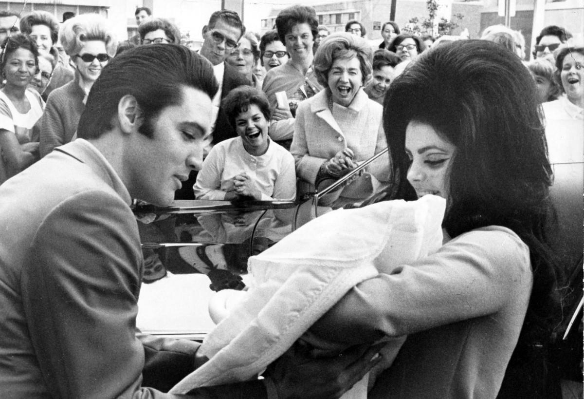 Elvis Presley y Priscilla