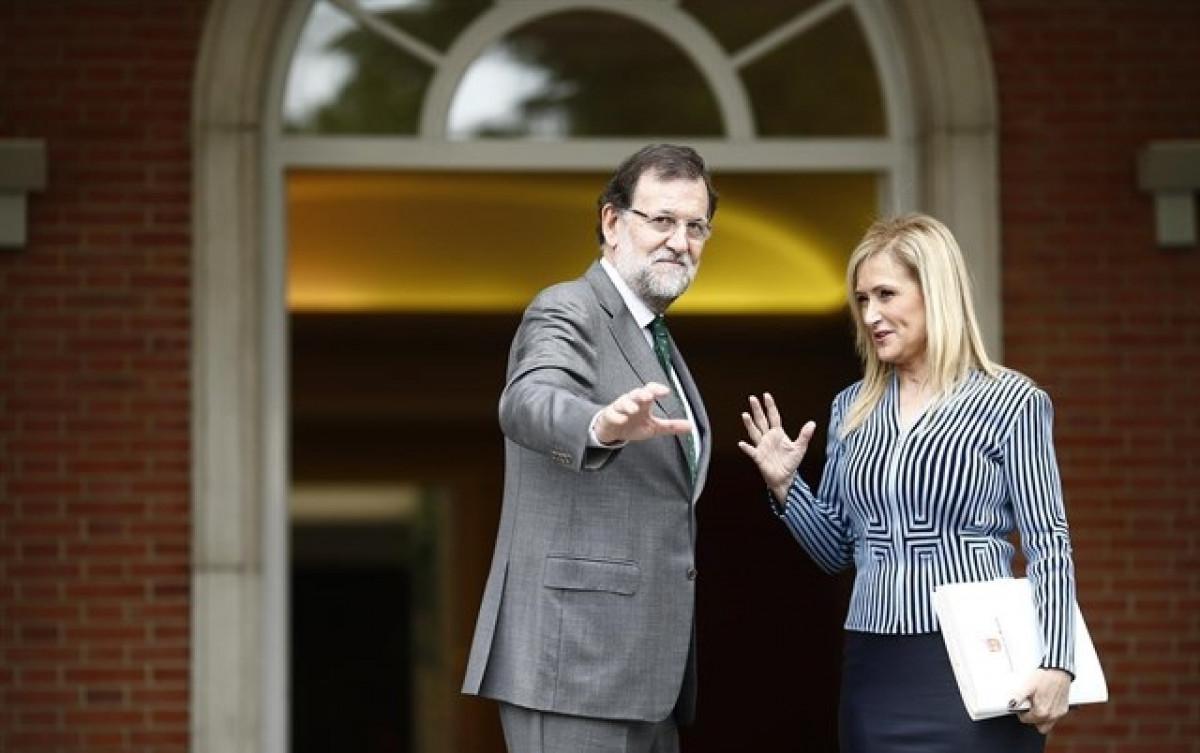 Rajoy y cifuentes