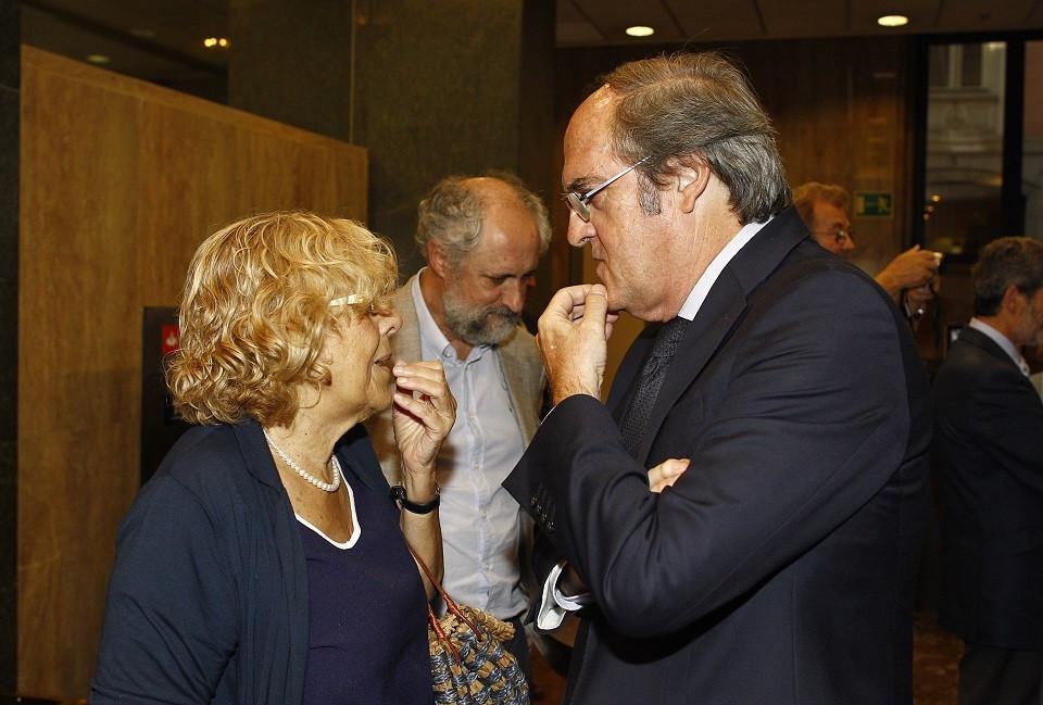 Manuela Carmena y u00c1ngel Gabilondo
