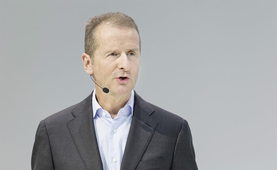 Herbert Diess, consejero delegado de la marca Volkswagen