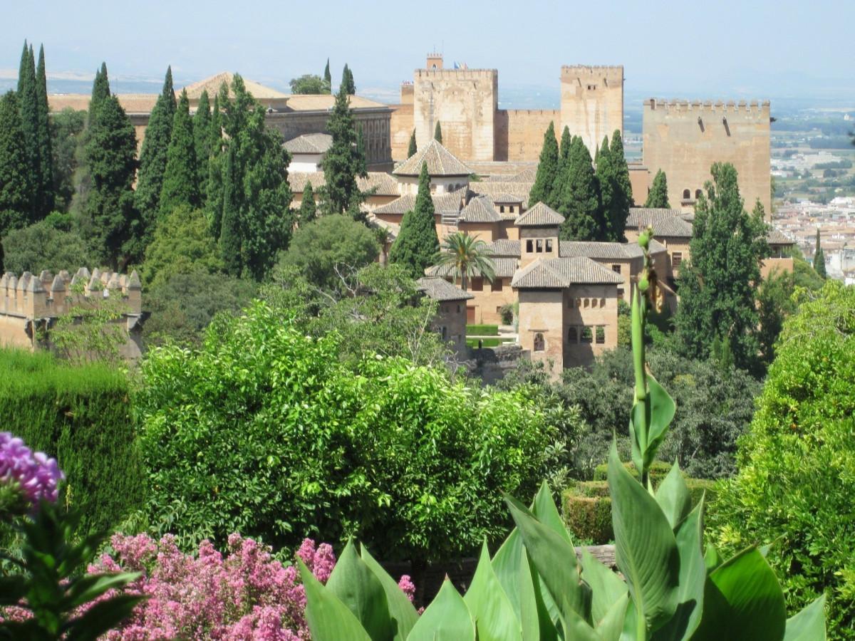La Alhambra vista desde el Albaicu00edn