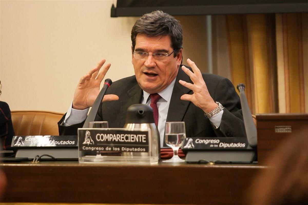 El presidente de la AIReF, Josu00e9 Luis Escrivu00e1, en el Congreso