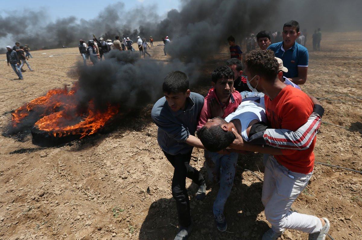 Muertos en Gaza por la apertura de la embajada de EEUU