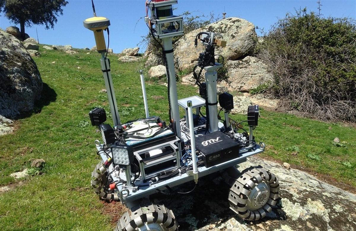 Prototipo de rover del proyecto GOTCHA de la ESA