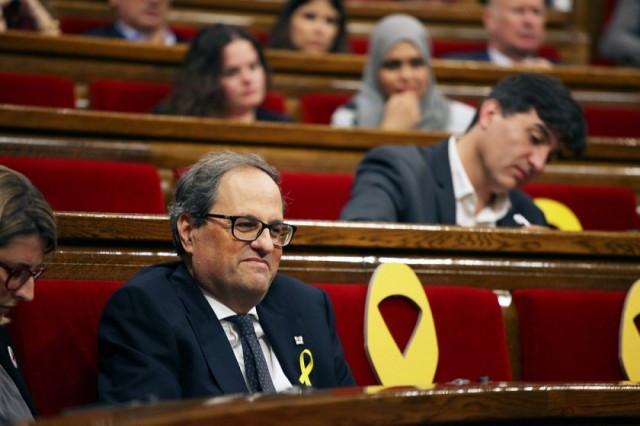 Torra parlament investidura 14052018