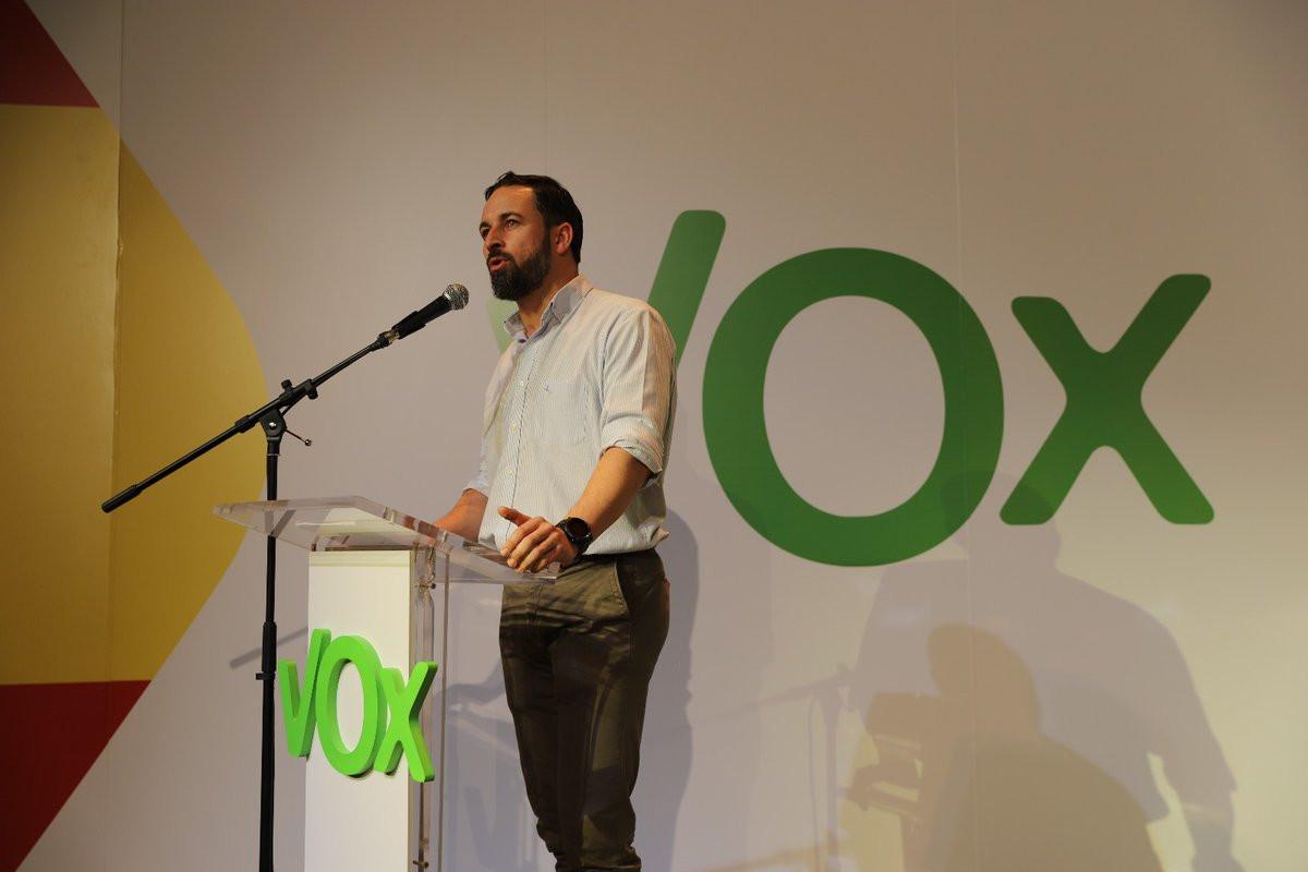 Santiago Abascal Conde, presidente de Vox