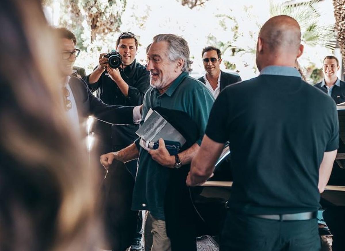 Robert de Niro inaugura un hotel de lujo en Marbella