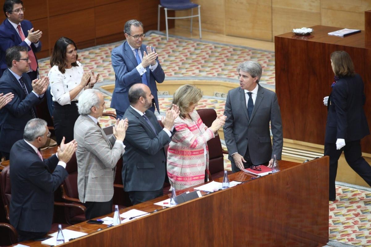 El nuevo presidente de la Comunidad de Madrid, u00c1ngel Garrido