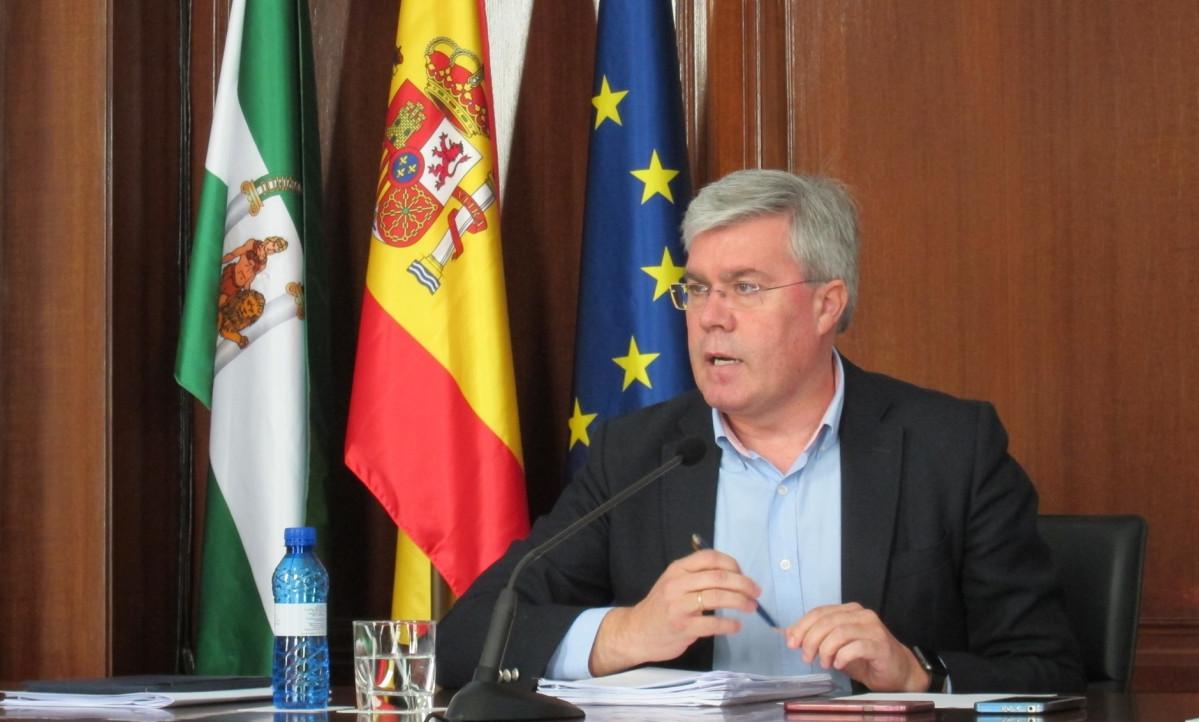 El secretario de Estado de Hacienda, Josu00e9 Enrique Fernu00e1ndez de Moya