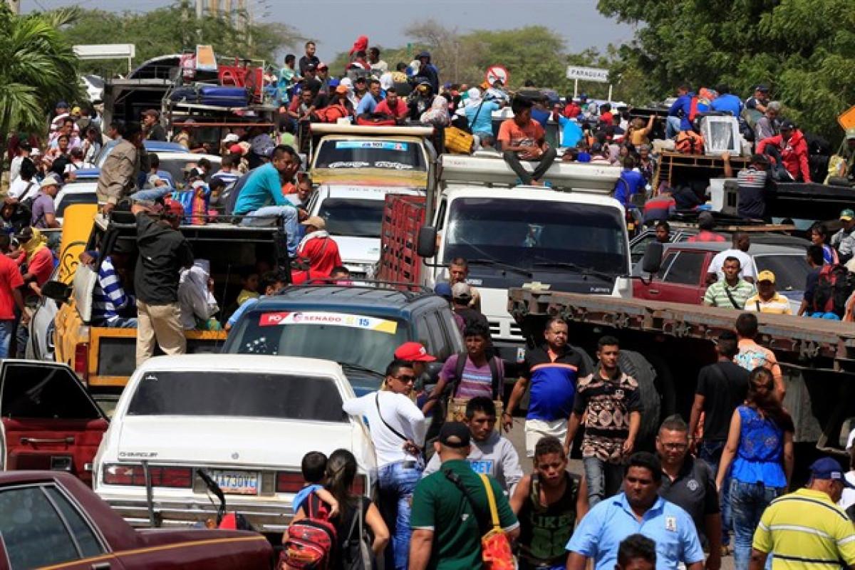 Colombia, puerta de entrada de los venezolanos que huyen del hambre y de Maduro