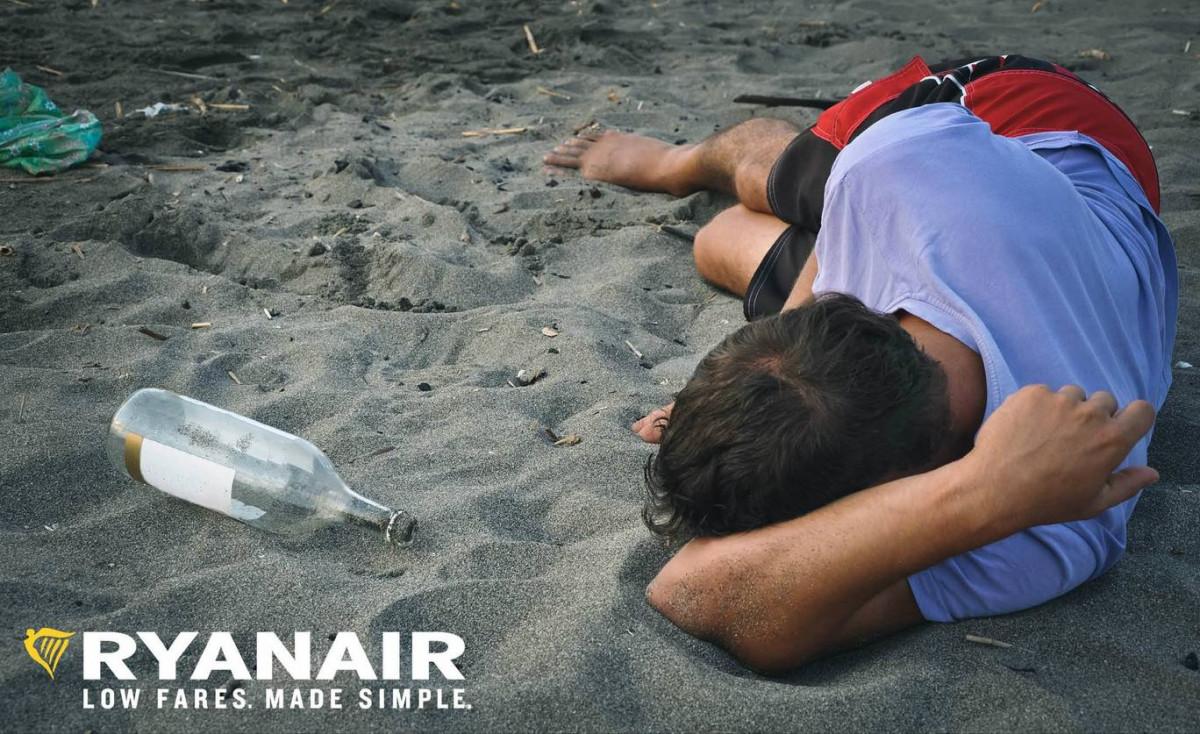 Ryanair turismo de borrachera