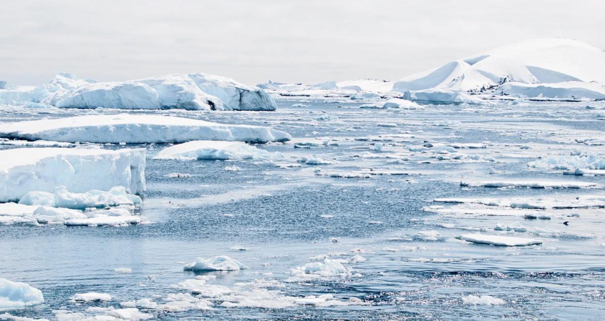 Hielo de la Antártida