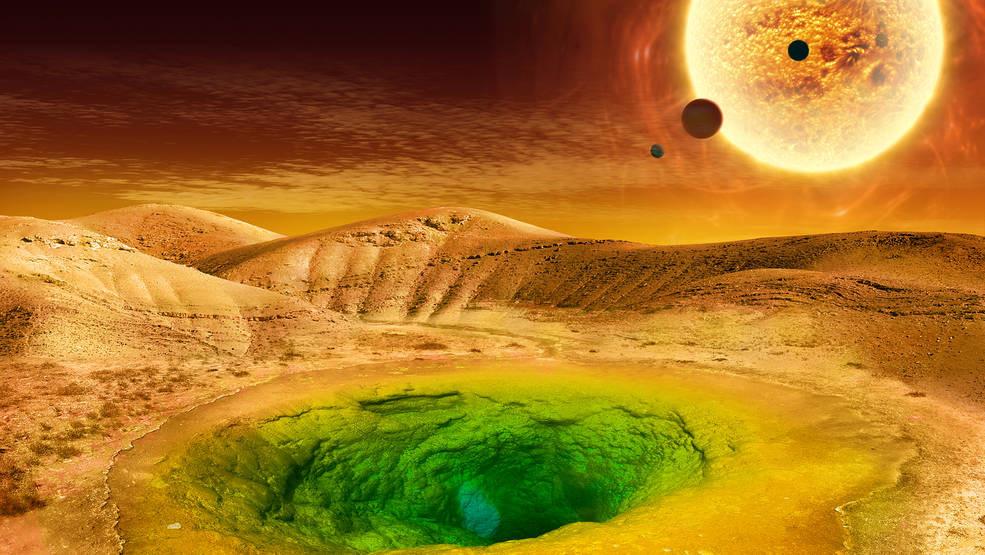 Como seria la vida en un exoplaneta