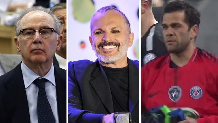 Rodrigo Rato, Miguel Bose y Dani Alves, morosos