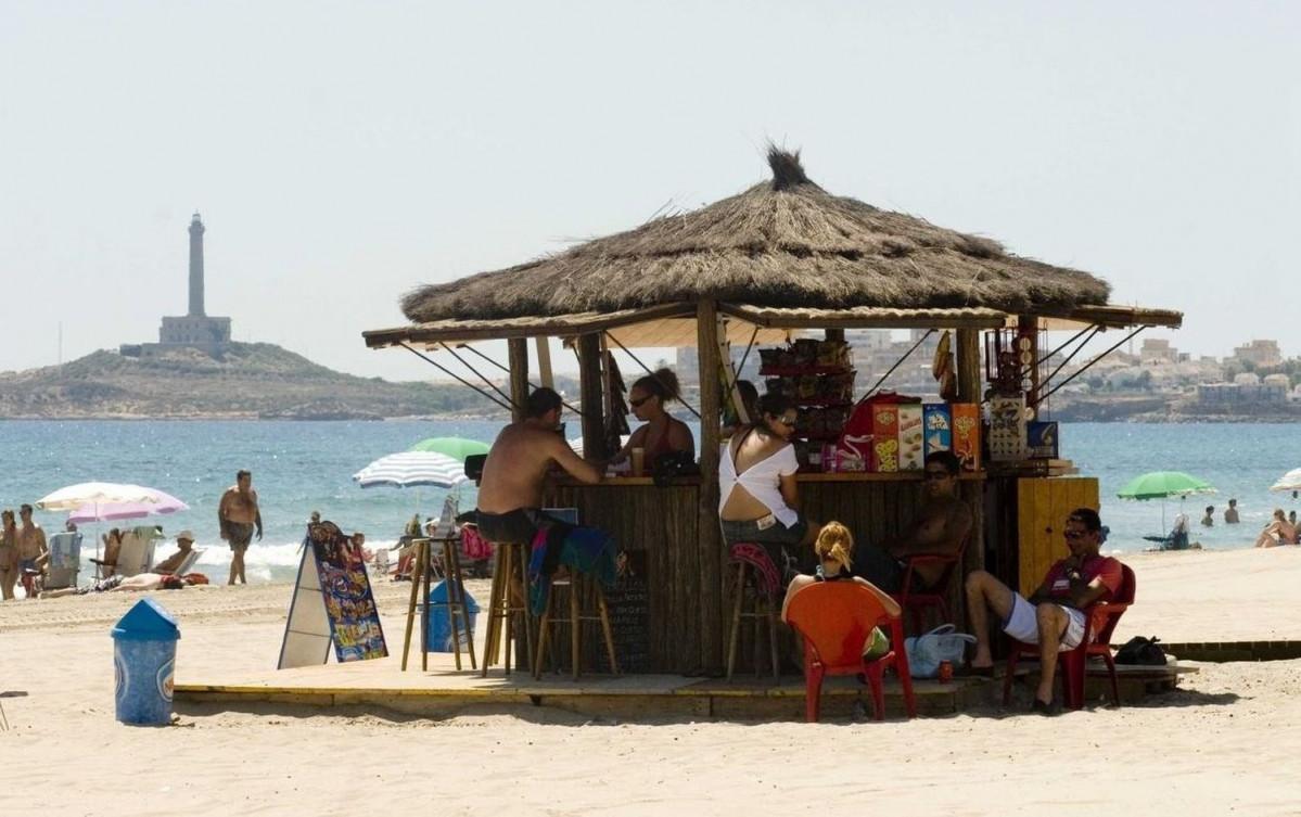 Un chiringuito de playa