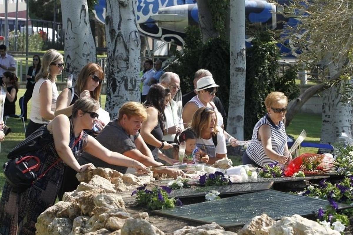 Homenaje a las vu00edctimas de Spanair EUROPA PRESS