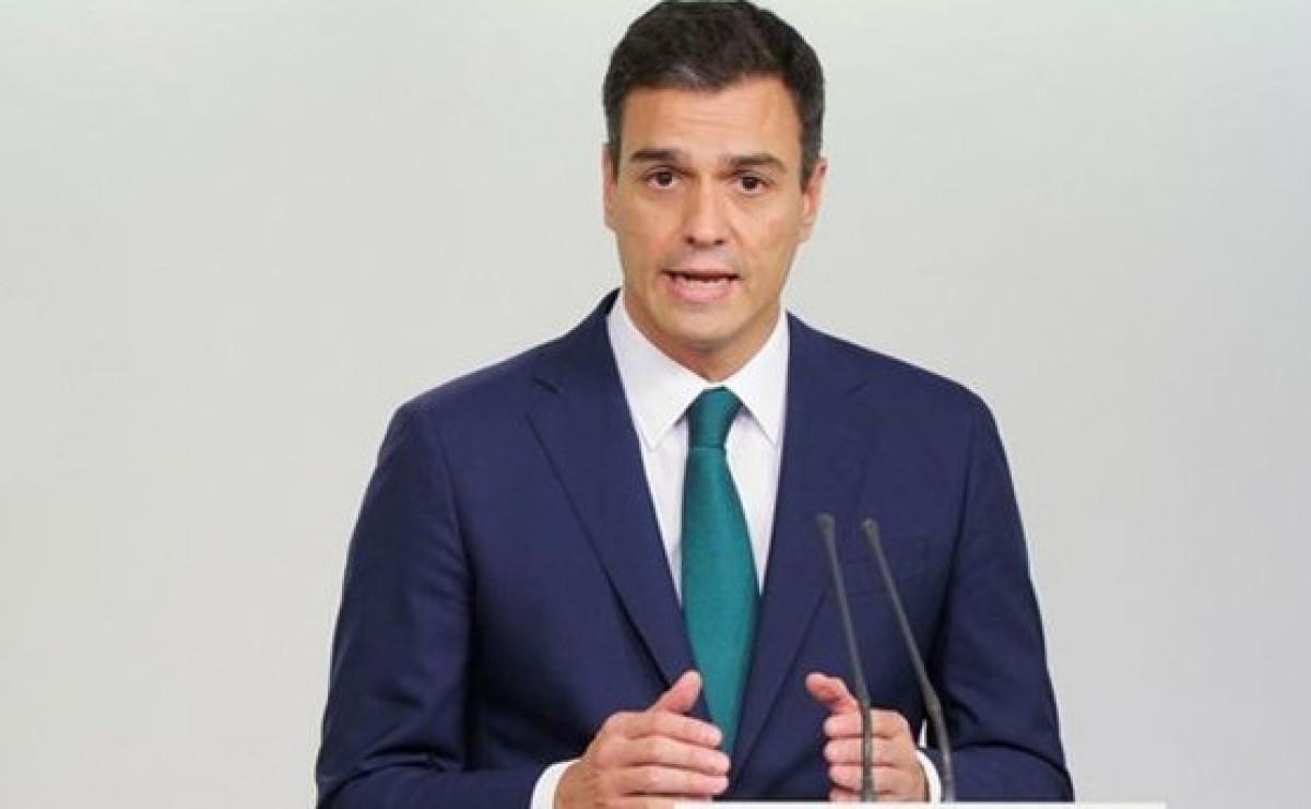 El presidente del Gobierno, Pedro Su00e1nchez