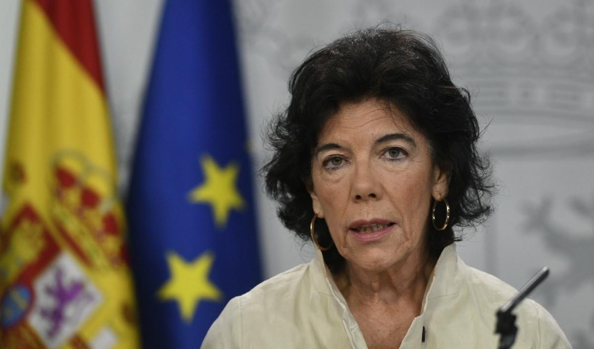 Rueda de prensa de la portavoz del Gobierno, Isabel Celau00e1